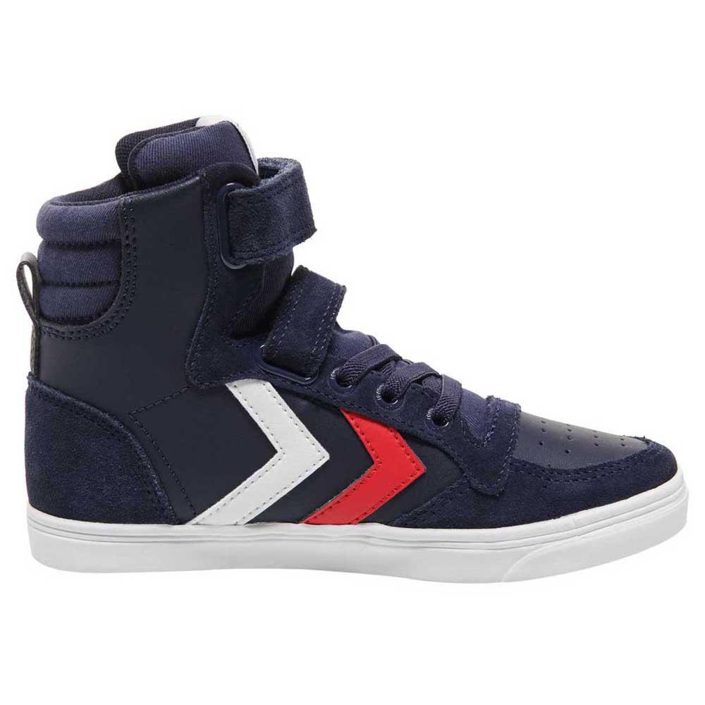 Hummel Chaussures Cuir Slimmer Stadil High EU 26 Peacoat