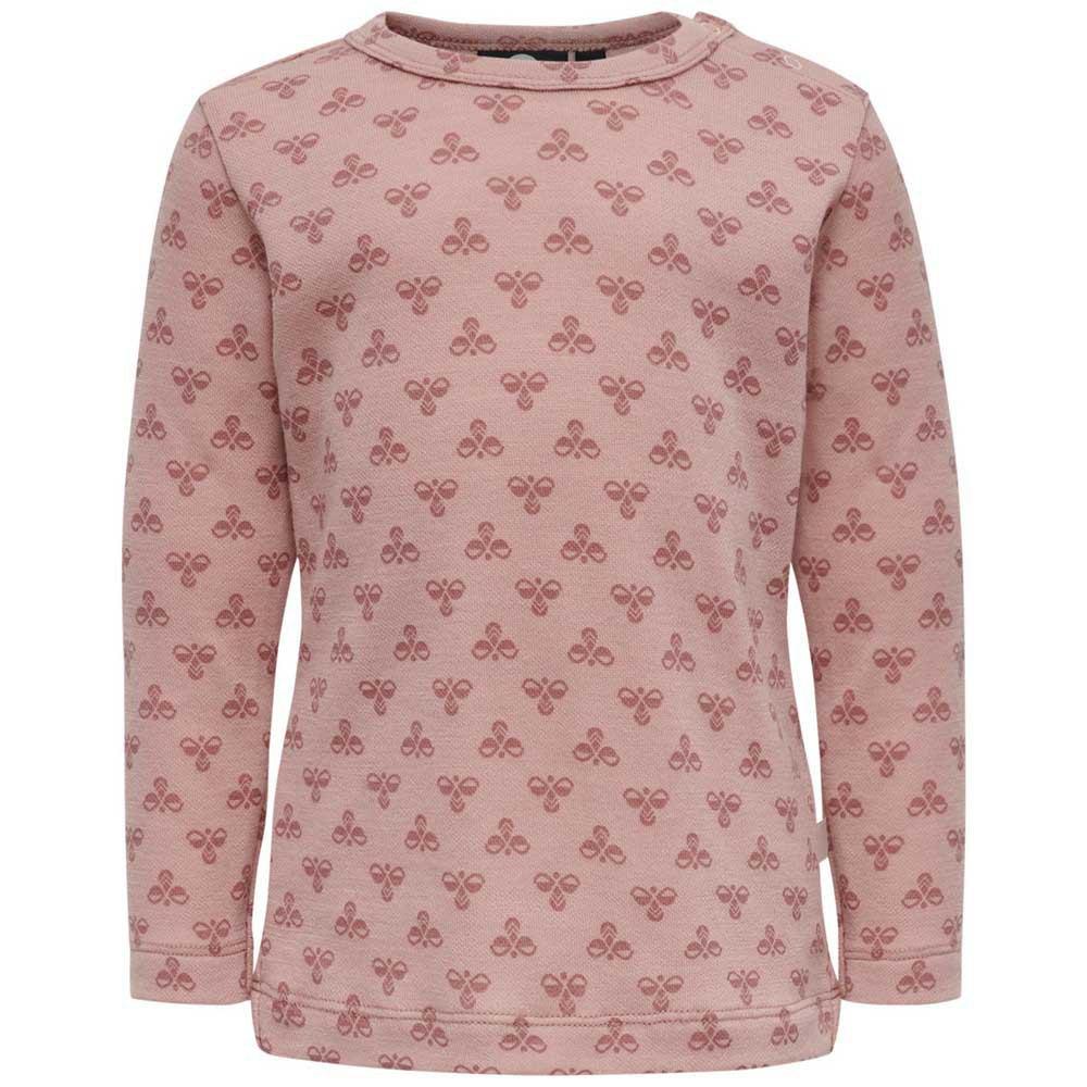 Hummel Vilmo T-shirt Manche Longue 104 cm Misty Rose