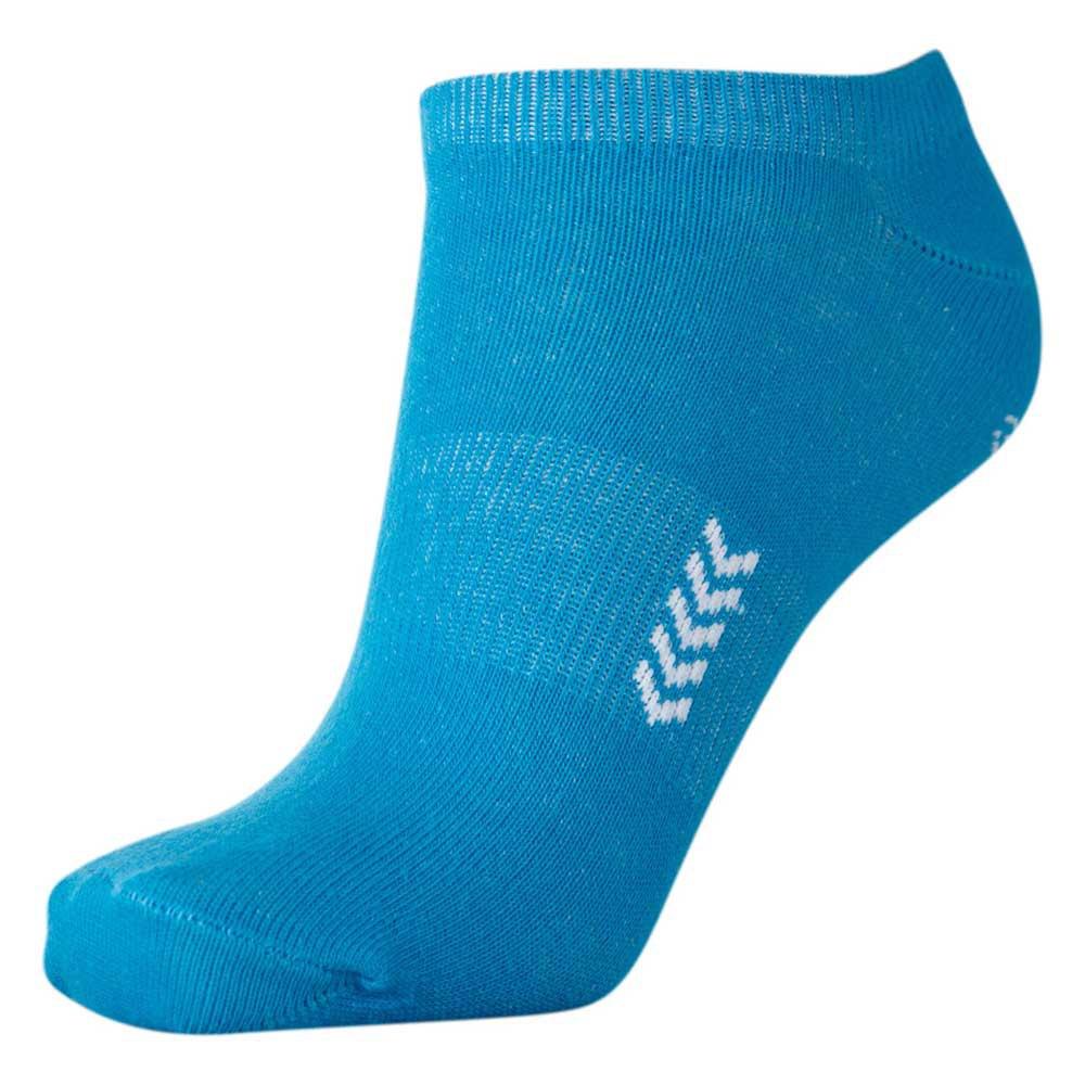 Hummel Chaussettes Ankle EU 32-35 Atomic Blue/White