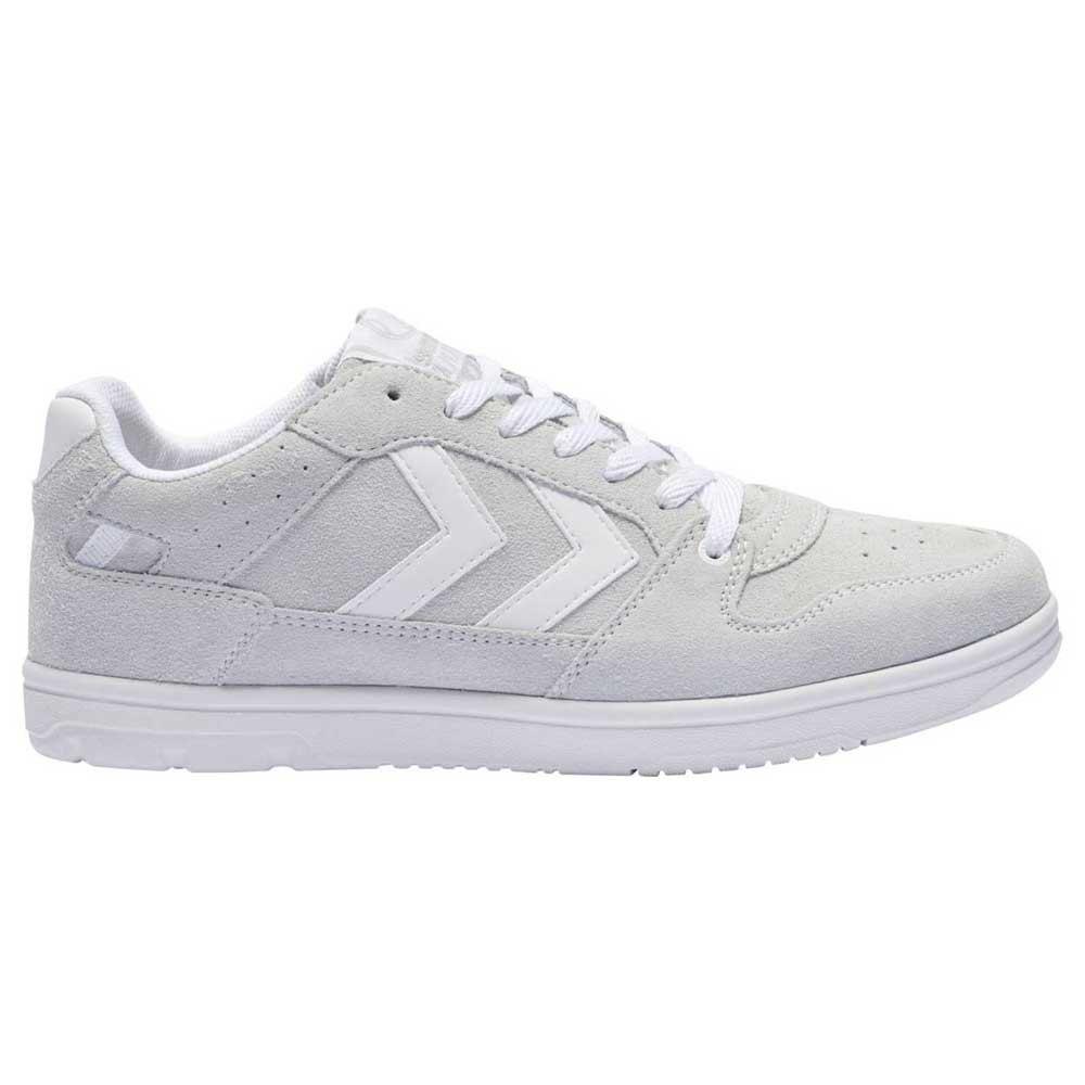 Hummel Chaussures Power Play Suede EU 37 Bone White