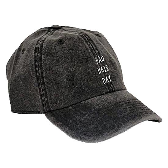 AqÜe Apparel Bad Hair Day One Size Black
