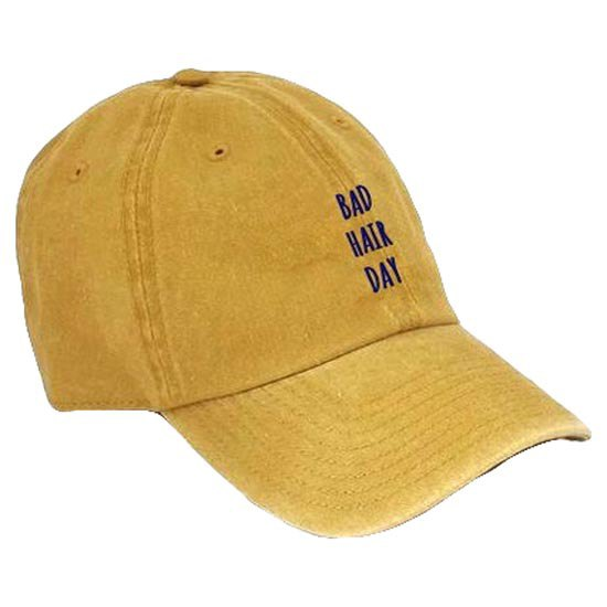 AqÜe Apparel Bad Hair Day One Size Mustard