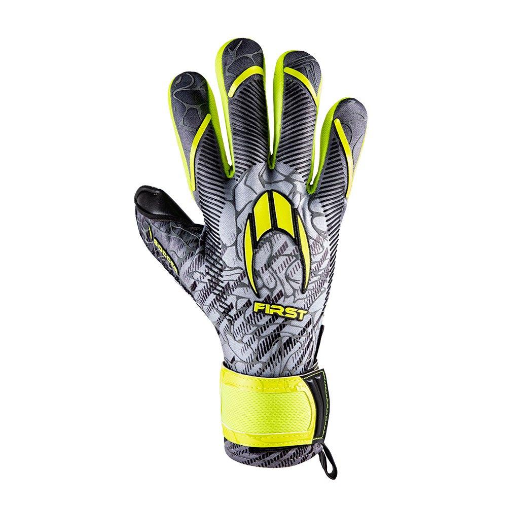 Ho Soccer Gants Gardien First Superlight 7.5 Metal Lime