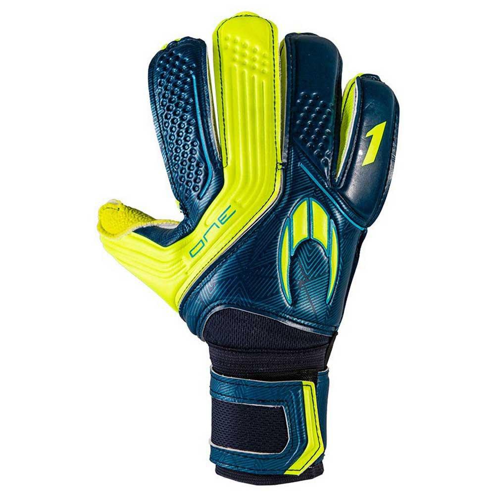 Ho Soccer Gants Gardien One Flat 7.5 Robust Deep Blue