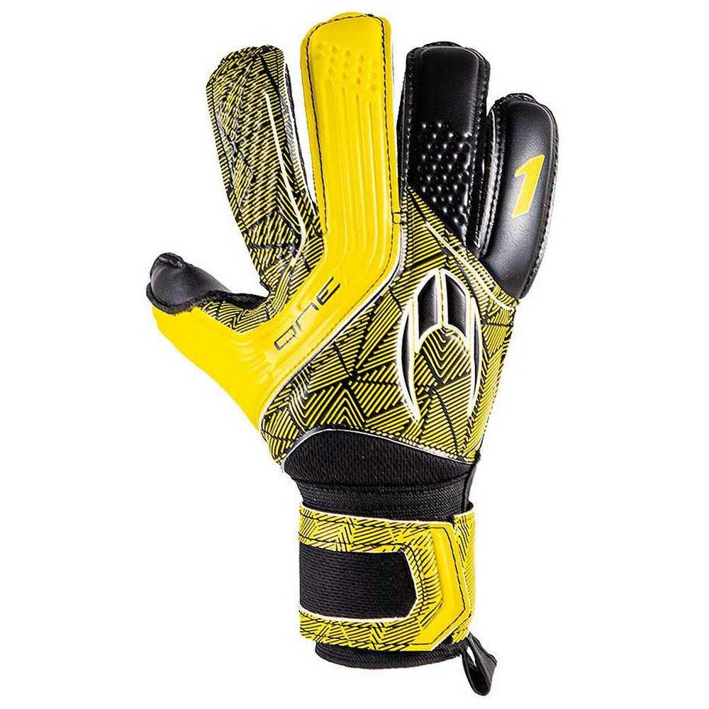 Ho Soccer Gants Gardien One Flat 7.5 Yellow Shadow