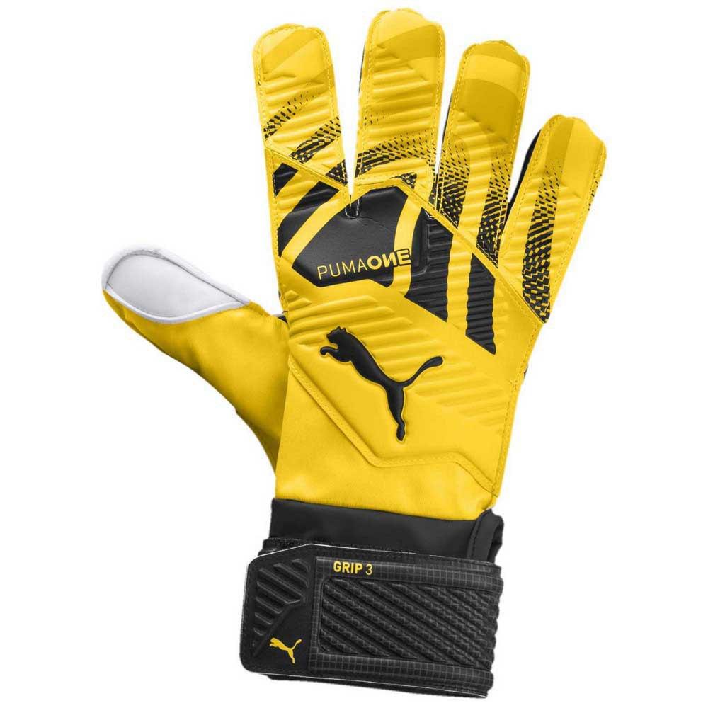 Puma Gants Gardien One Grip 3 Rc 7 Ultra Yellow
