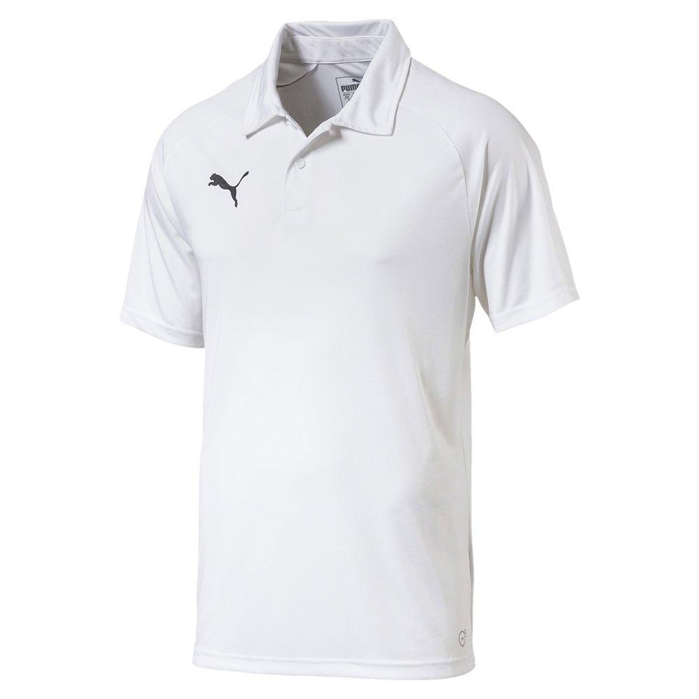 Puma Polo Manche Courte Liga Sideline M Puma White