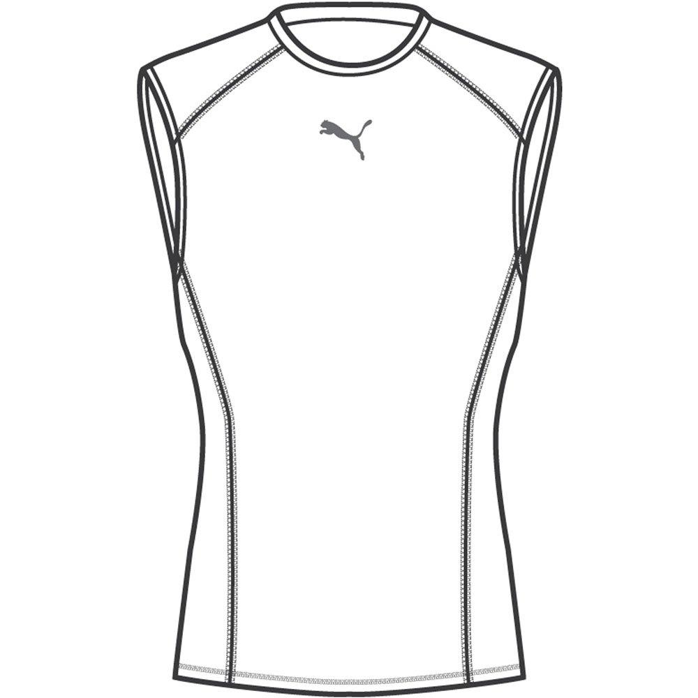 Puma T-shirt Sans Manches Liga Baselayer S Puma White