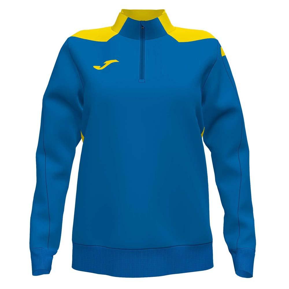 Joma Sweatshirt Championship Vi XL Royal / Yellow