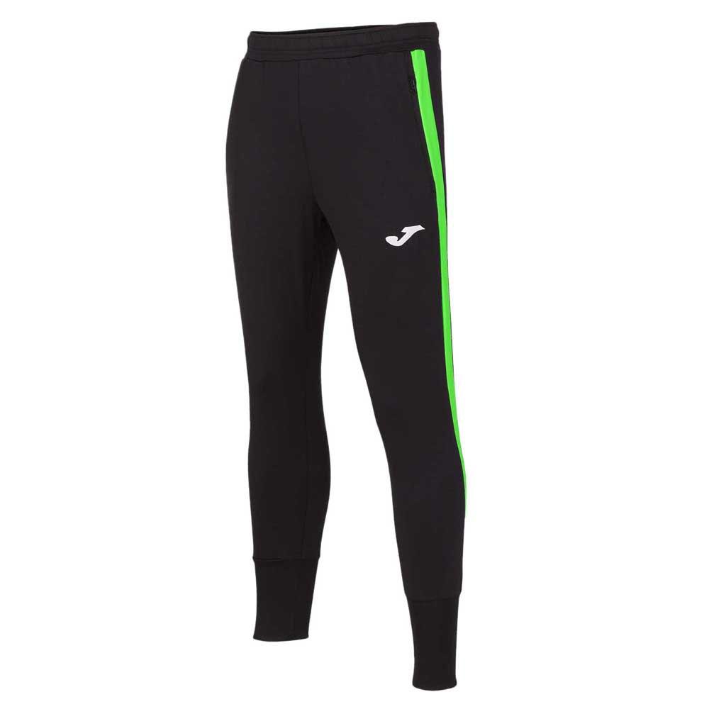 Joma Pantalon Longue Advance XL Black / Green Fluor