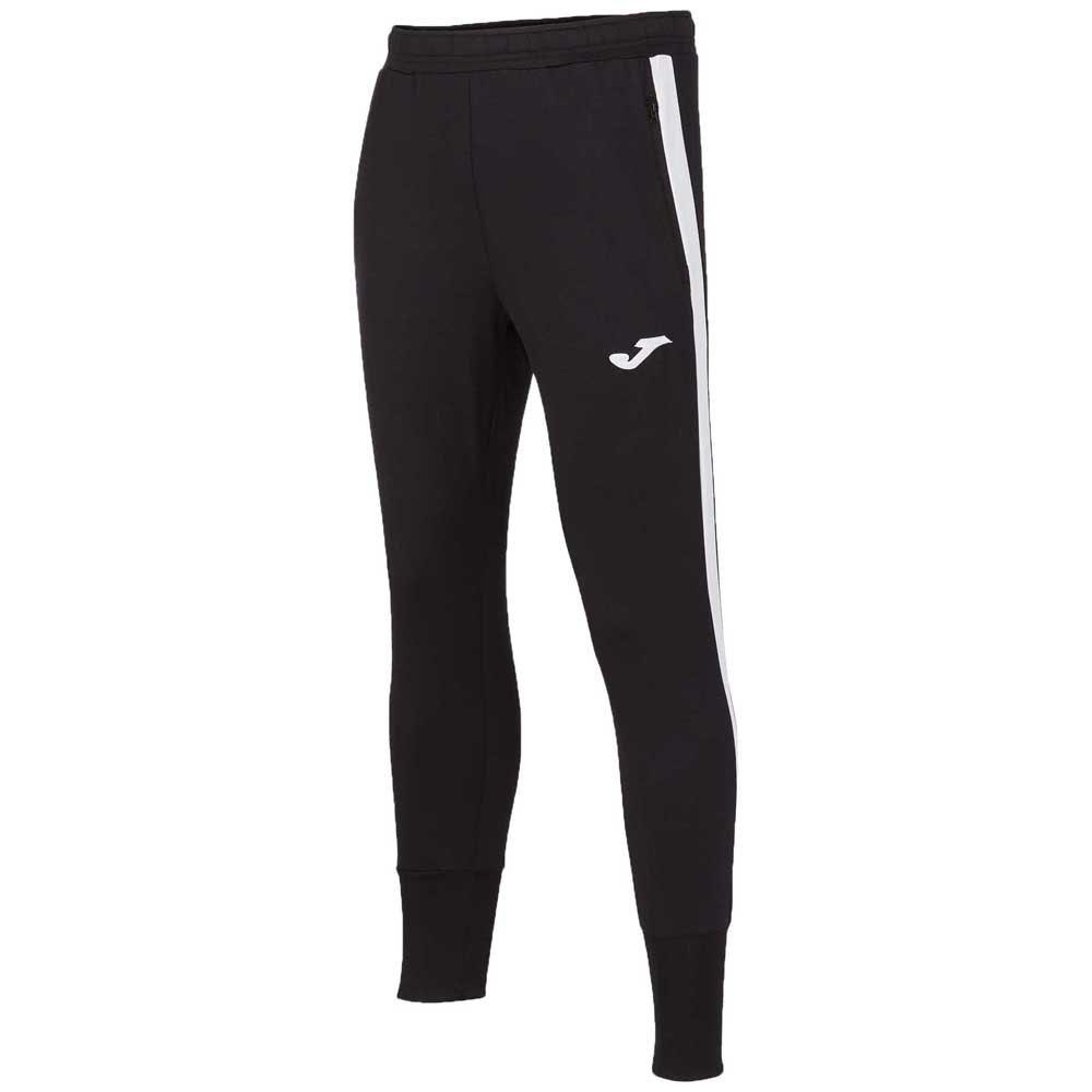 Joma Pantalon Longue Advance 4-5 Years Black / White