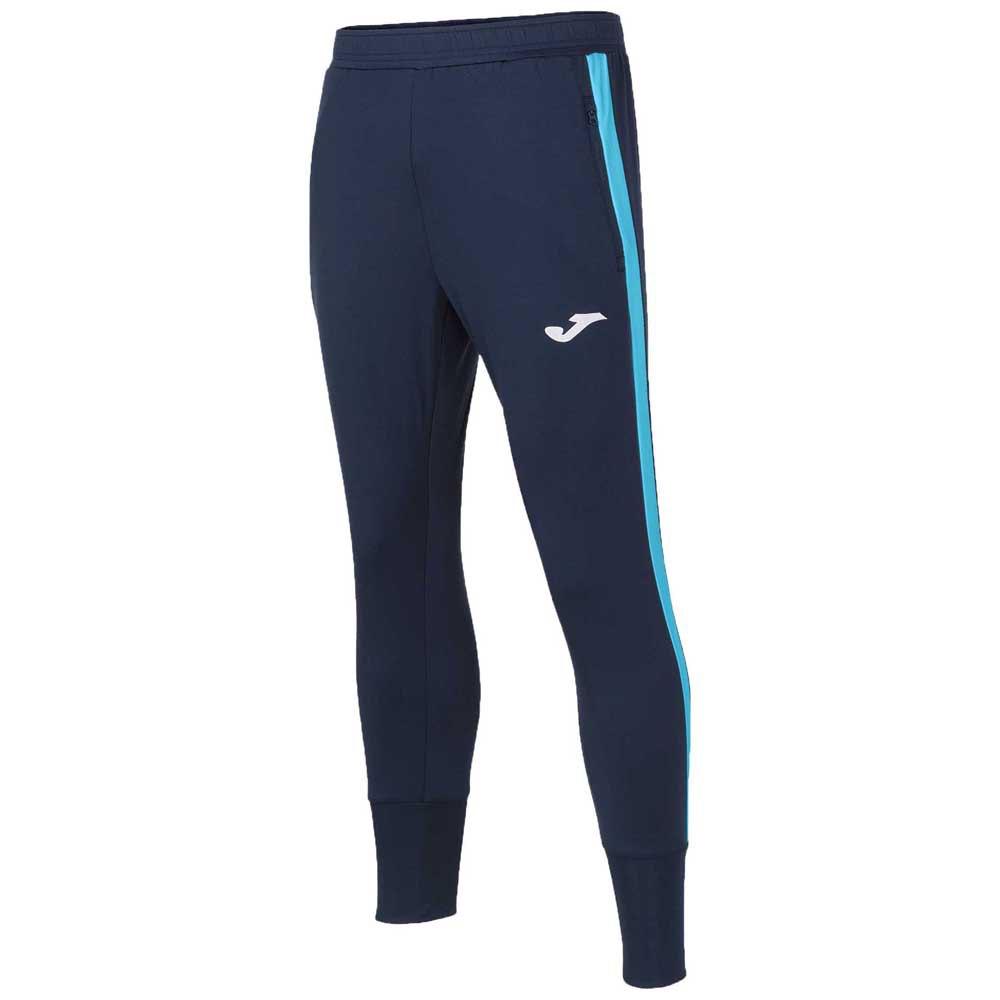 Joma Pantalon Longue Advance 4-5 Years Dark Navy / Turquoise Fluor