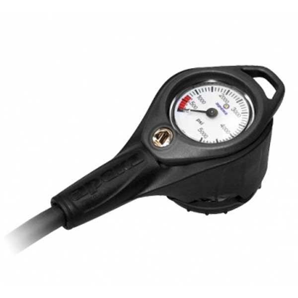 Apeks Press Gauge+compass Imperial Black KONSOLEN Press Gauge+compass Imperial