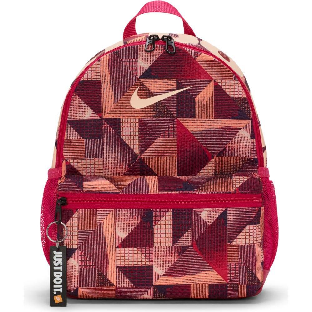 Nike Brasilia Just Do It Printed One Size Fireberry / Fireberry / Crimson Tint