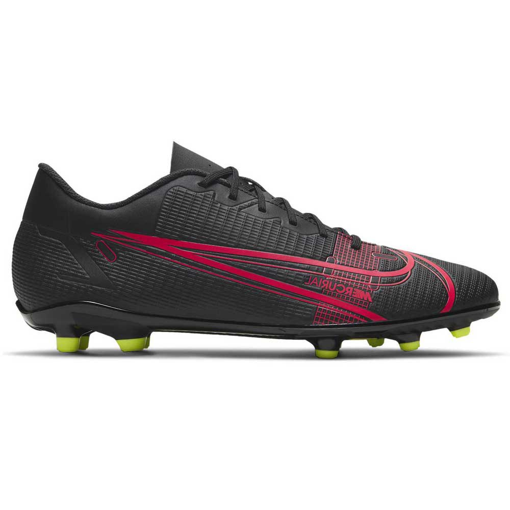 Nike Chaussures Football Mercurial Vapor Xiv Club Fg/mg EU 40 Black / Black / Cyber