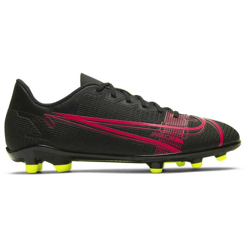Nike Chaussures Football Mercurial Vapor Xiv Club Fg/mg EU 35 1/2 Black / Black / Cyber
