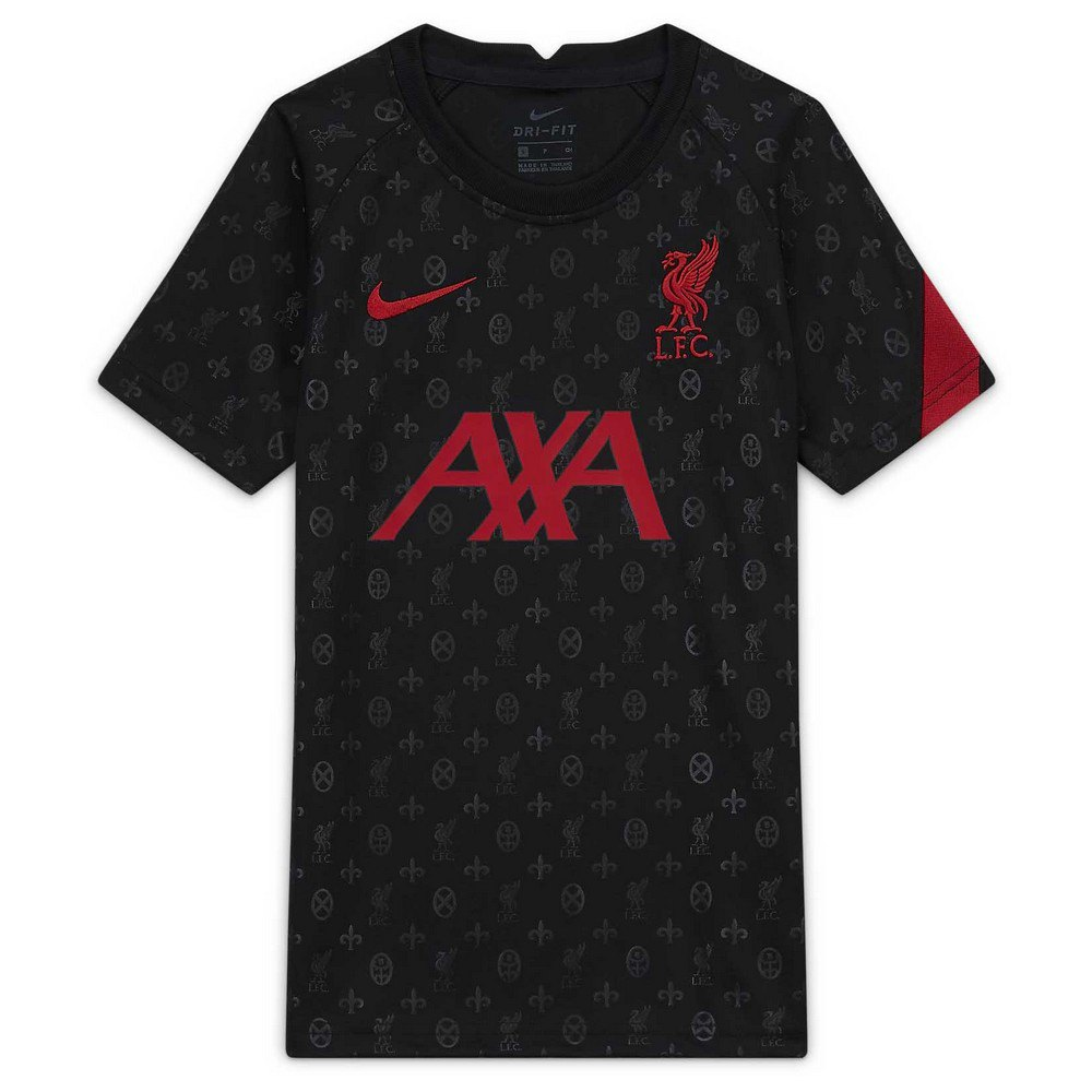 Nike Liverpool Fc Pre Match 20/21 S Black / Gym Red / Gym Red