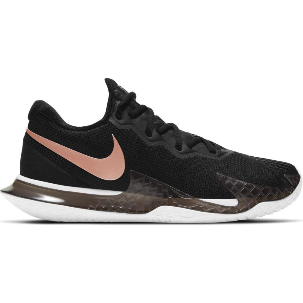 Nike Court Air Zoom Vapor Cage 4 Hard Court EU 41 Black / Mtlc Red Bronze / White