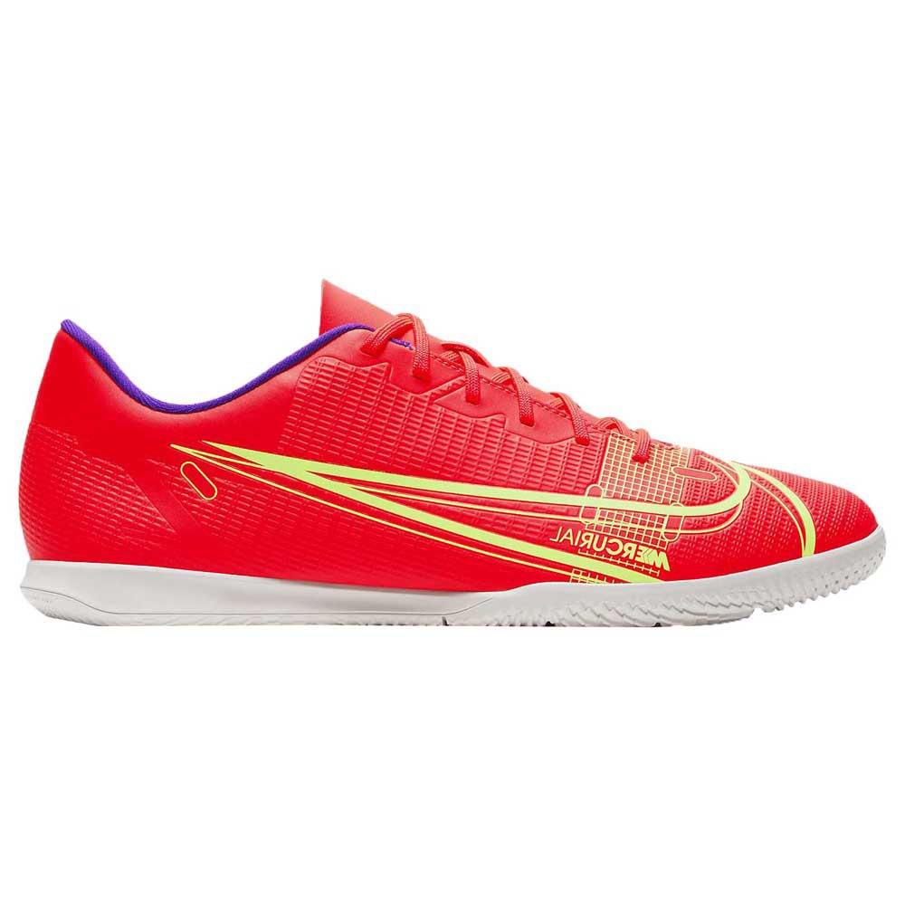 Nike Chaussures Football Salle Mercurial Vapor Xiv Club Ic EU 44 Bright Crimson / Metallic Silver