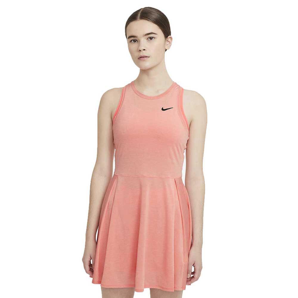 Nike Robe Court Dri Fit Advantage L Crimson Bliss / Black