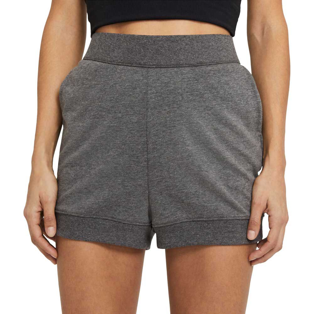 Nike Short Yoga French Terry S Black / Htr / Dk Smoke Grey