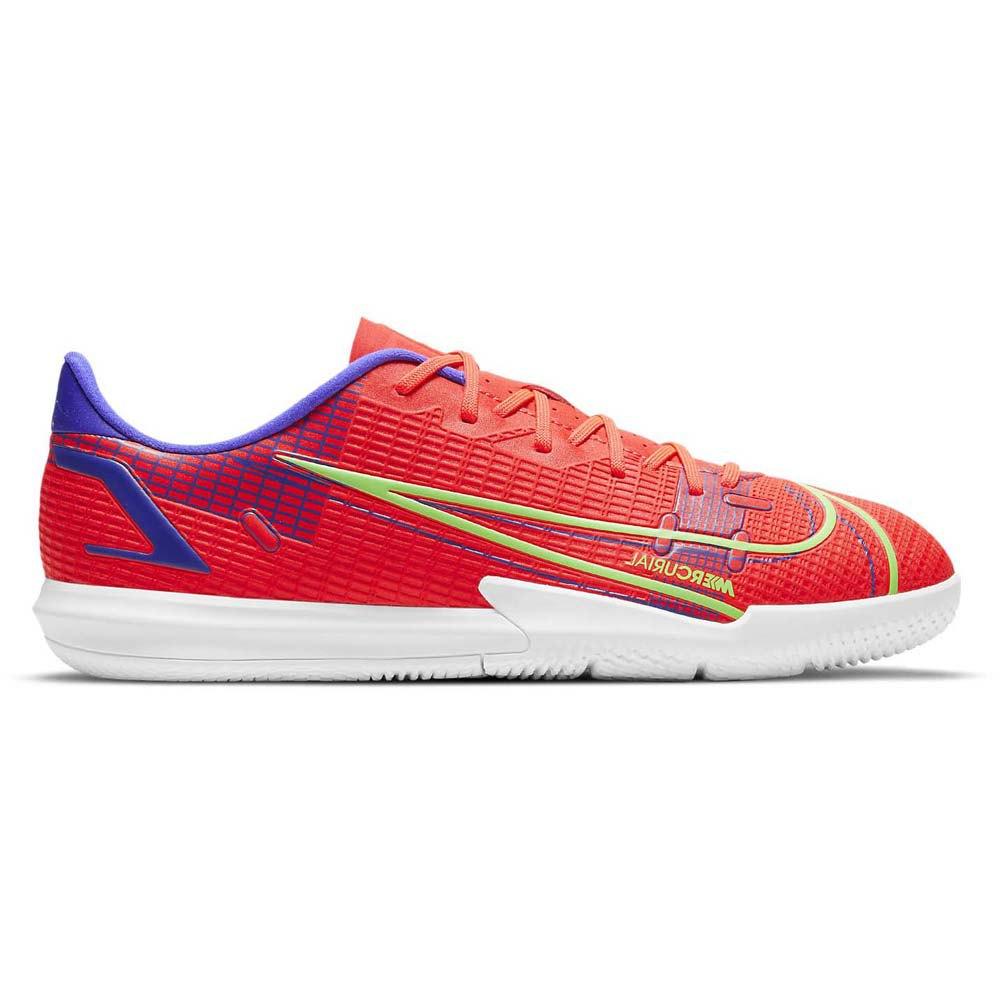 Nike Chaussures Football Salle Mercurial Vapor Xiv Academy Ic EU 38 Bright Crimson / Metallic Silver