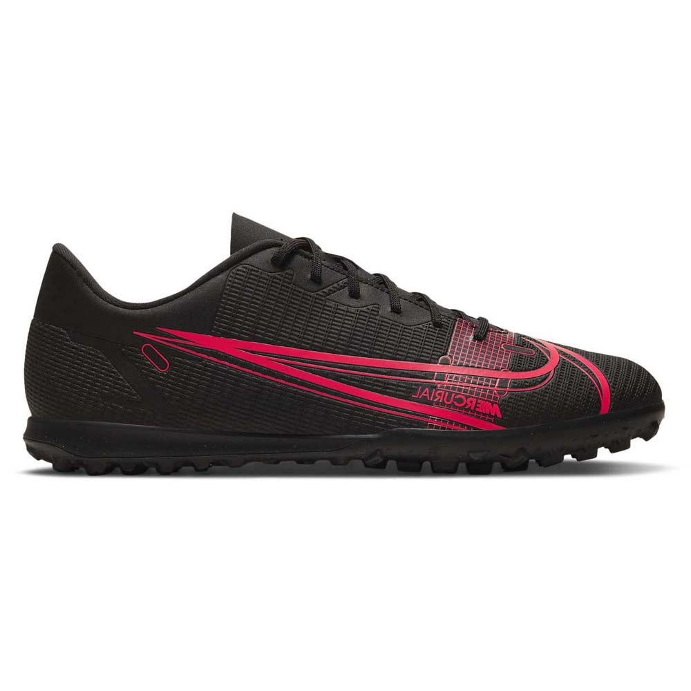 Nike Chaussures Football Mercurial Vapor Xiv Club Tf EU 43 Black / Black / Cyber