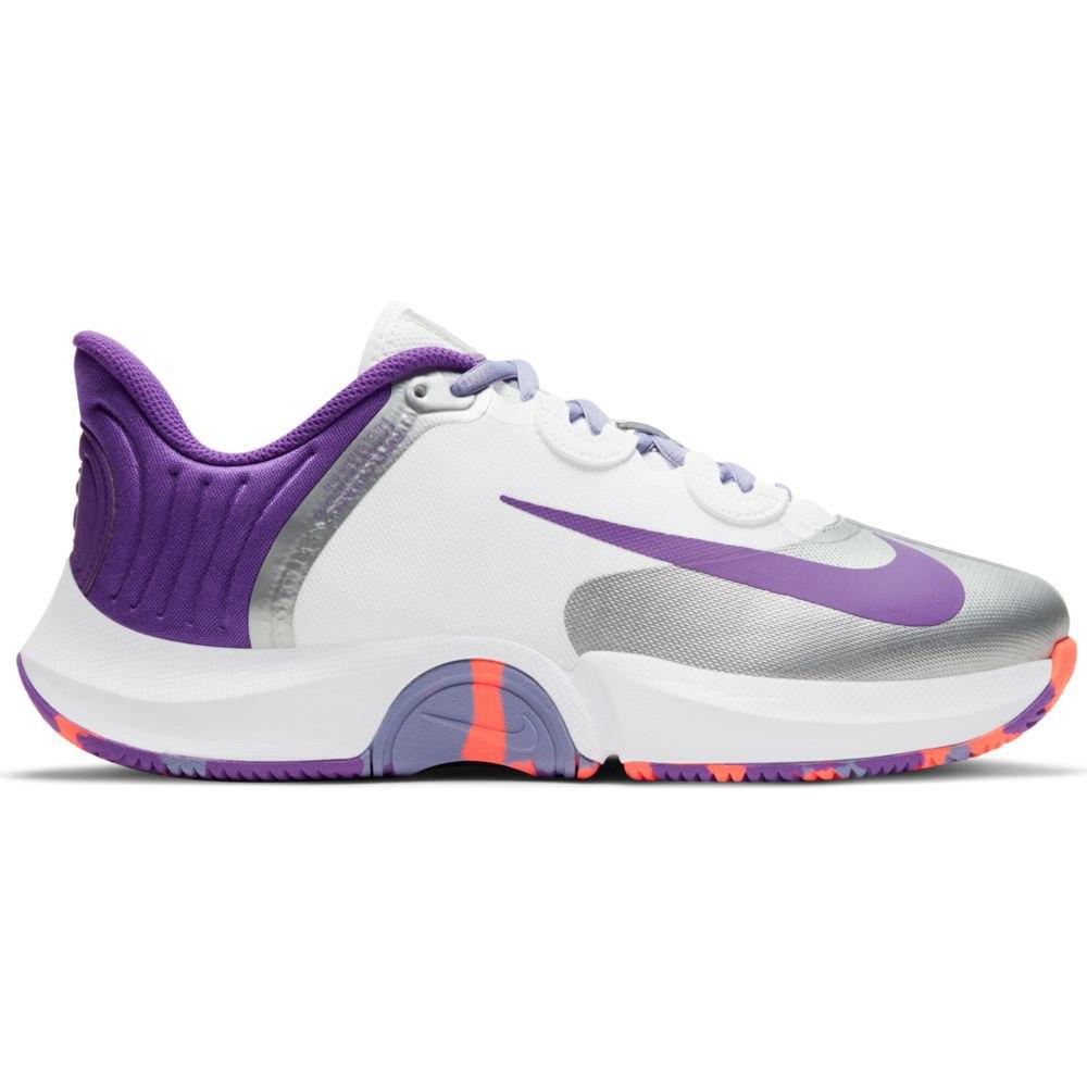 Nike Court Air Zoom Gp Turbo Hard Court EU 38 White / Wild Berry / Bright Mango