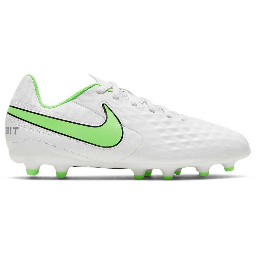 Nike Chaussures Football Tiempo Legend Viii Club Fg/mg EU 35 Platinum Tint / Rage Green