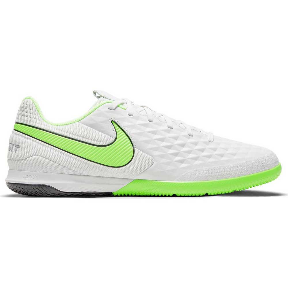 Nike Chaussures Football Salle React Tiempo Legend Viii Pro Ic EU 42 Platinum Tint / Rage Green