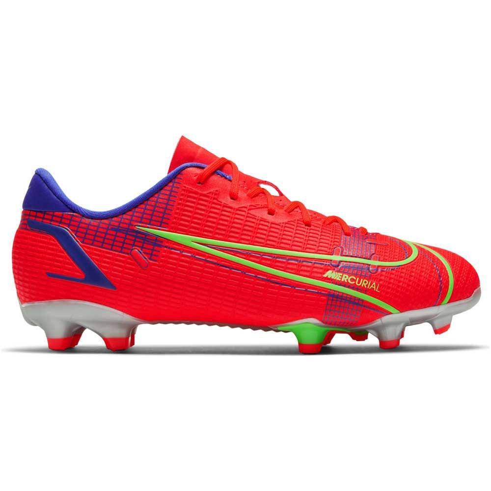Nike Chaussures Football Mercurial Vapor Xiv Academy Fg/mg EU 34 Bright Crimson / Metallic Silver
