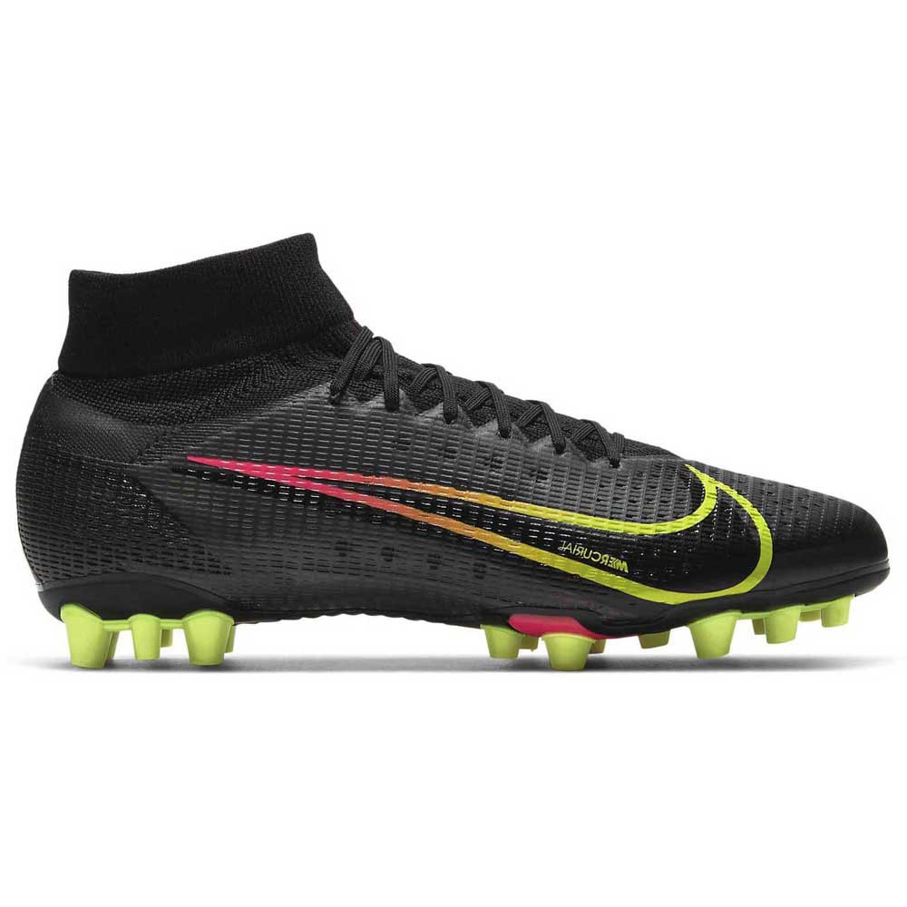Nike Mercurial Superfly Viii Pro Ag Football Boots EU 42 1/2 Black / Cyber / Off Noir
