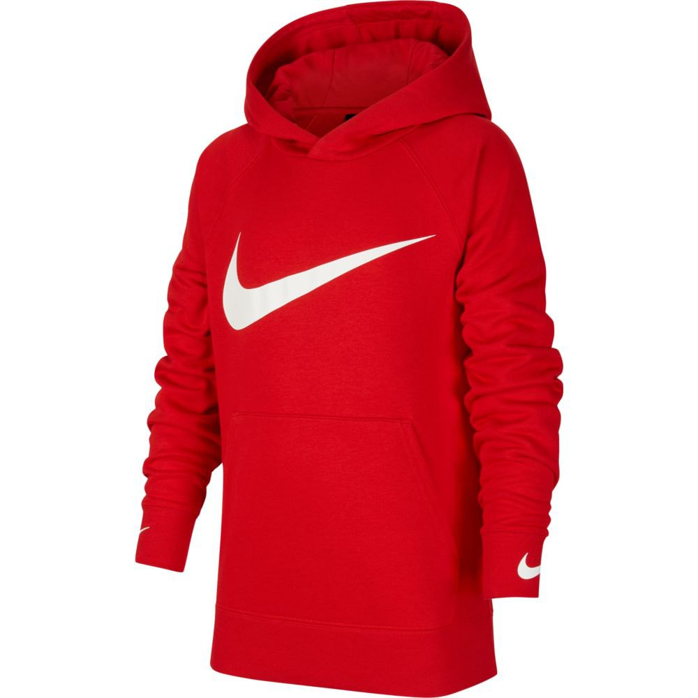 Nike Sweat À Capuche Swoosh L University Red / University Red / White