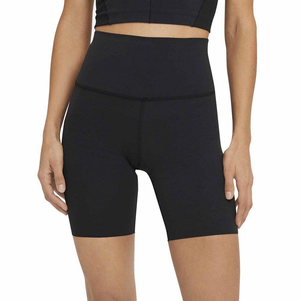 Nike Short Yoga Luxe L Black / Dk Smoke Grey