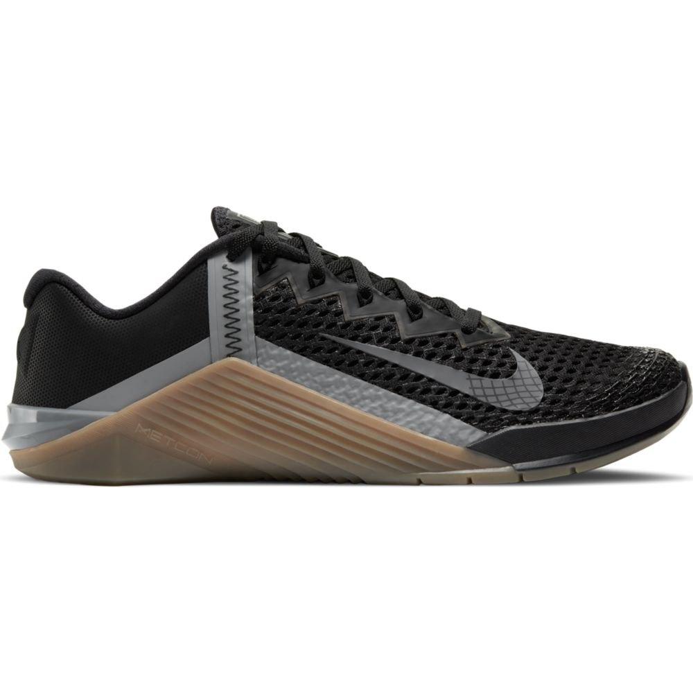Nike Metcon 6 EU 43 Black / Iron Grey / Gum Dark Brown