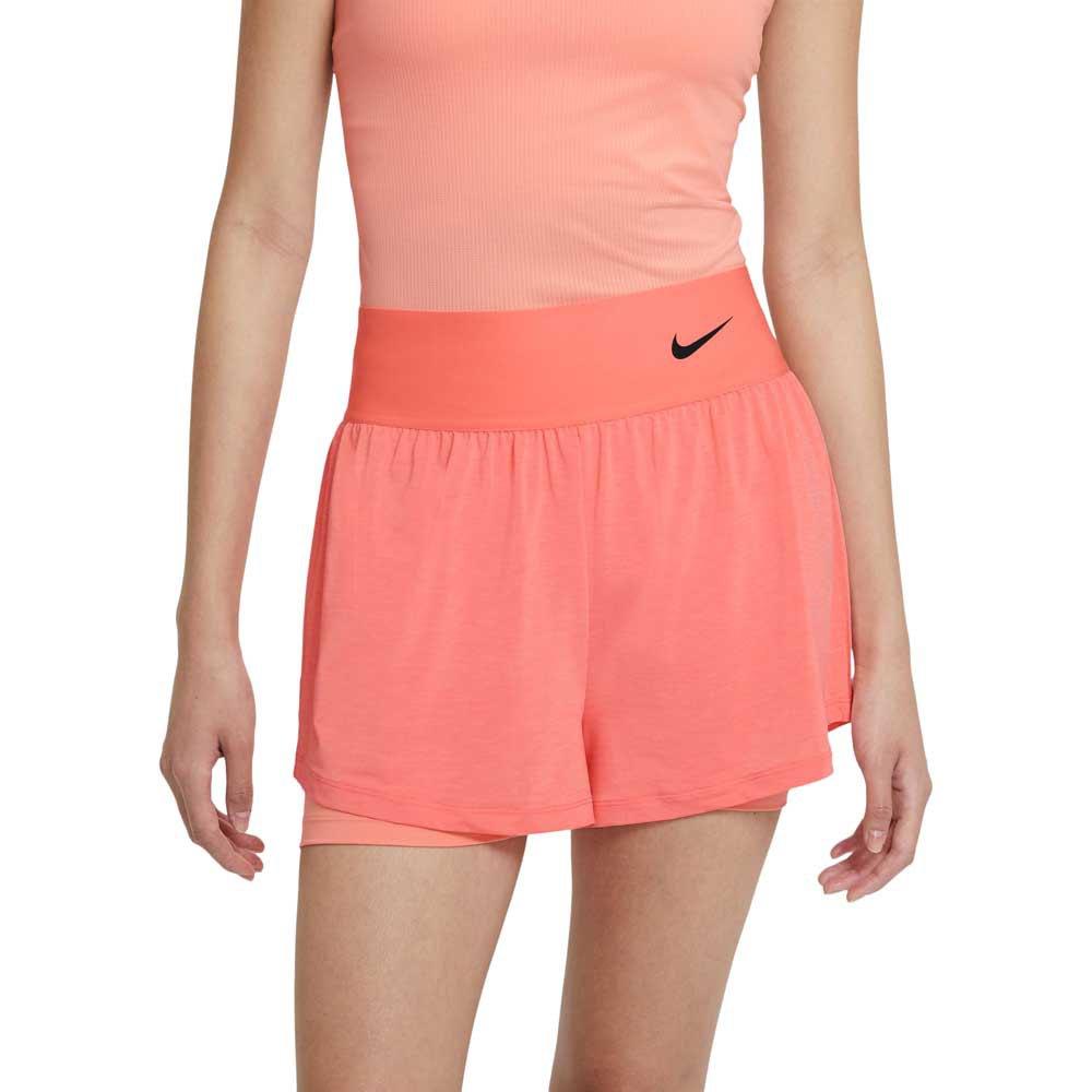 Nike Short Court Advantage S Crimson Bliss / Crimson Bliss / Black