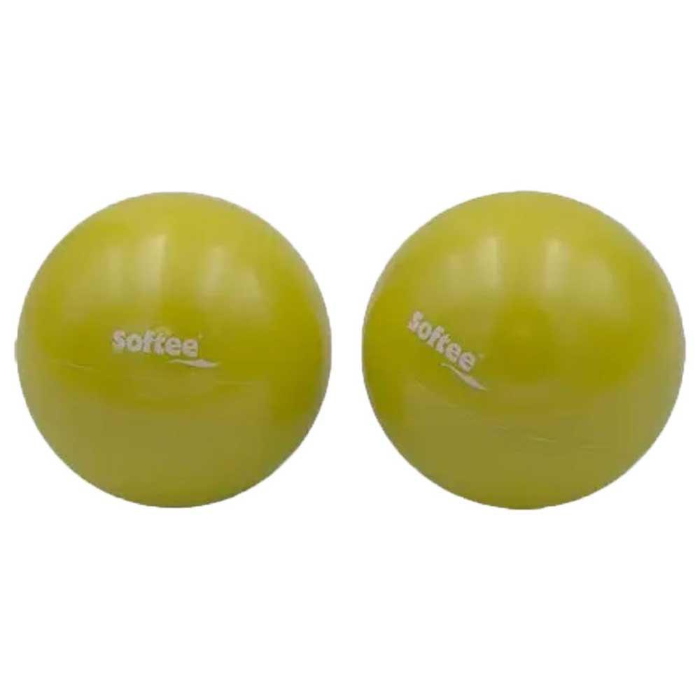 Softee Medecine Ball 1 Kg 1 Kg Yellow Fluor
