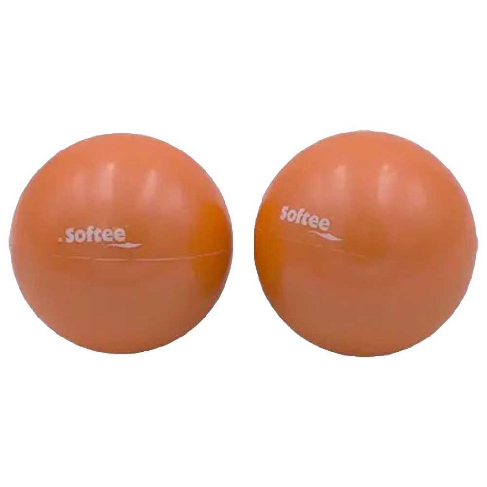 Softee Medecine Ball 1 Kg 1 Kg Coral Fluor