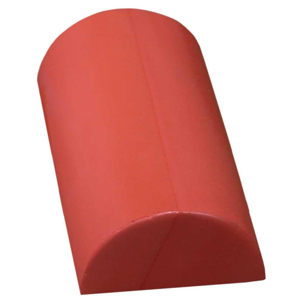 Softee Deluxe Pilates Demi-cylindre De 30 Cm 30 cm Red