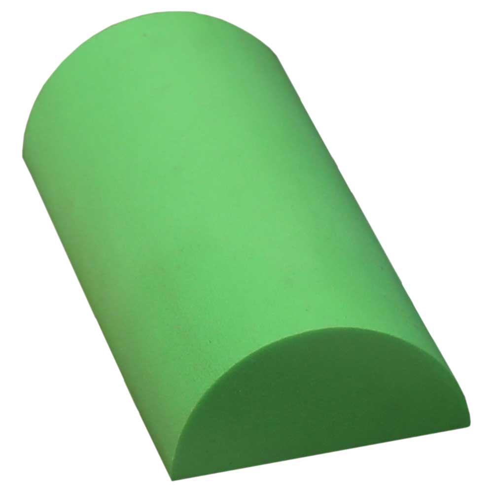 Softee Deluxe Pilates Demi-cylindre De 30 Cm 30 cm Green