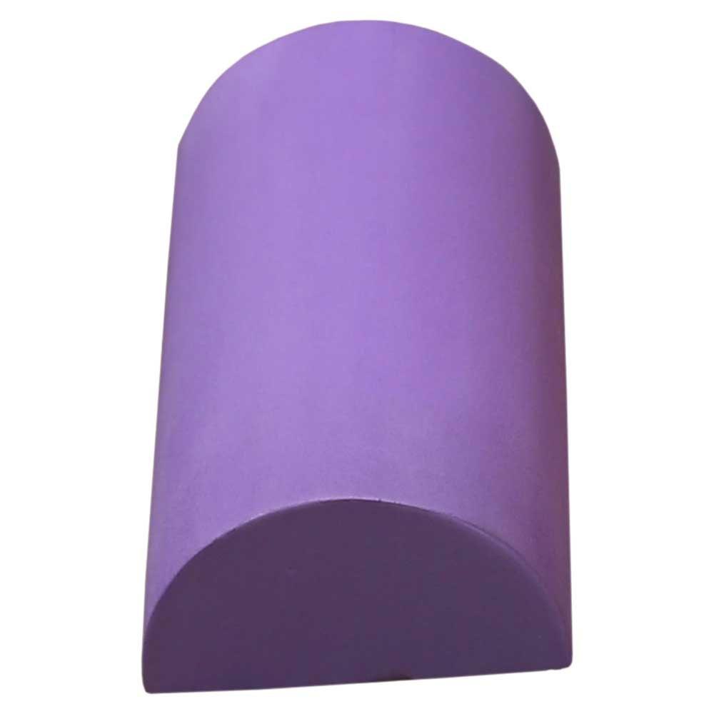 Softee Deluxe Pilates Demi-cylindre De 30 Cm 30 cm Violet