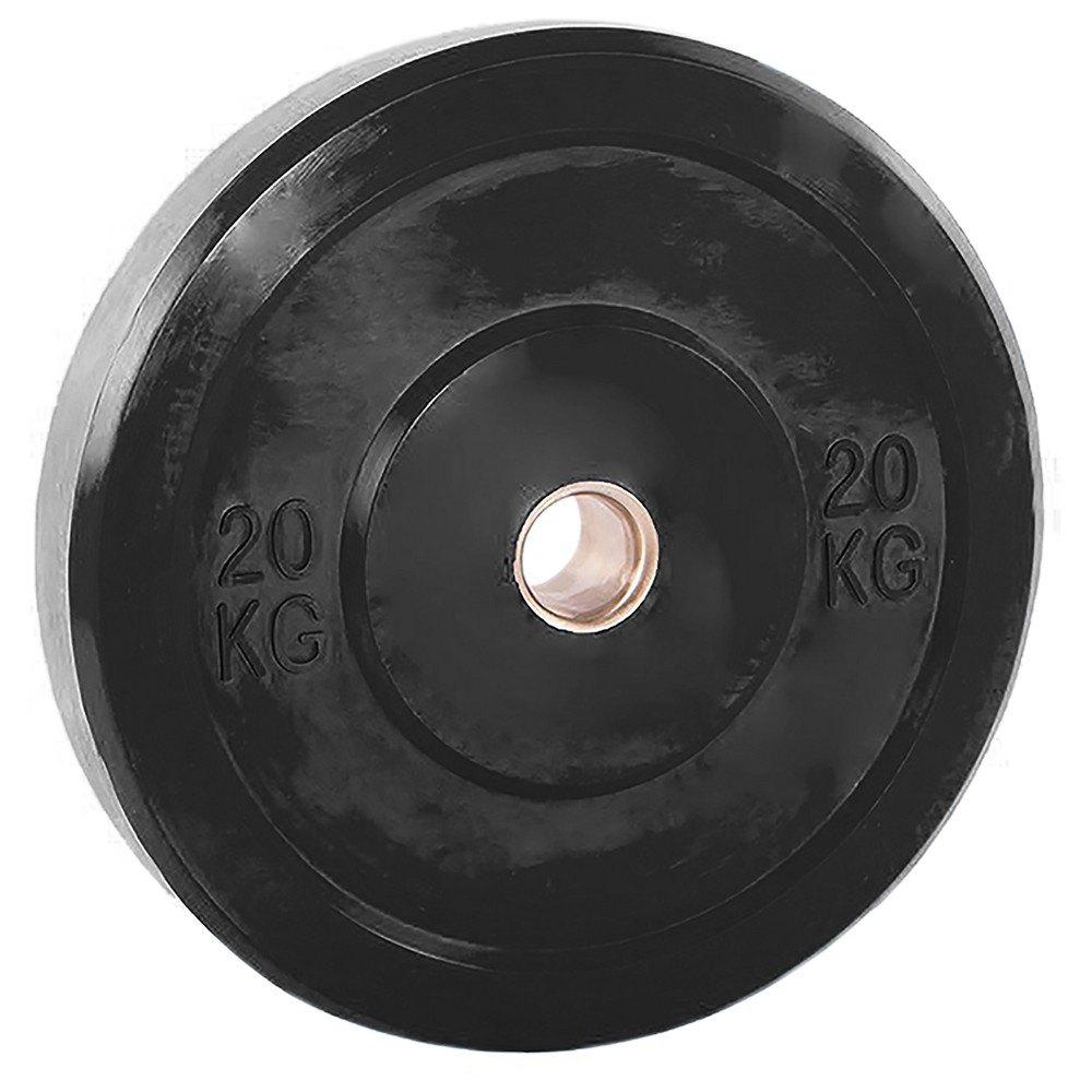 Softee Disque Bumper 20 Kg 20 kg Black