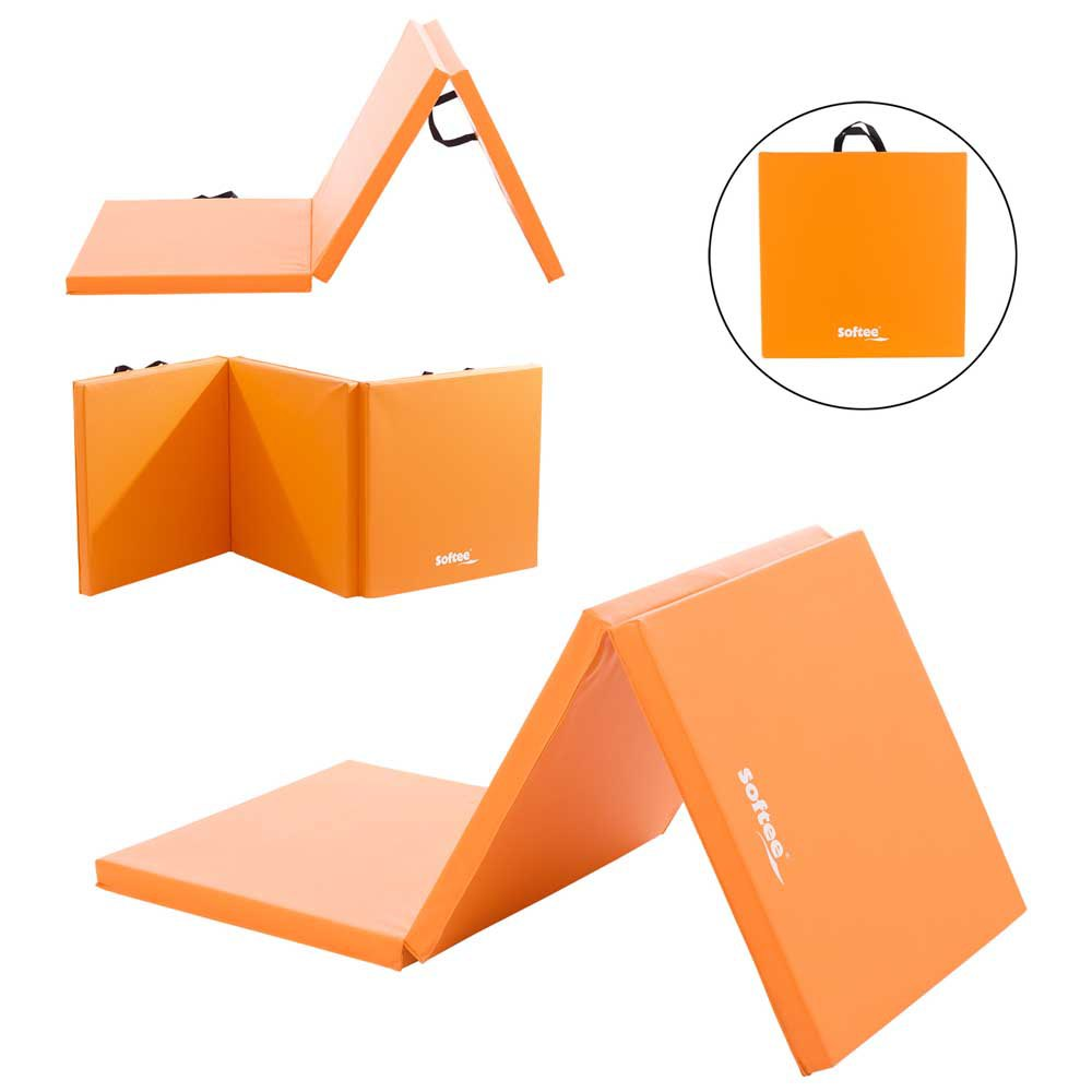Softee Foldable 180 x 60 x 4 cm Orange