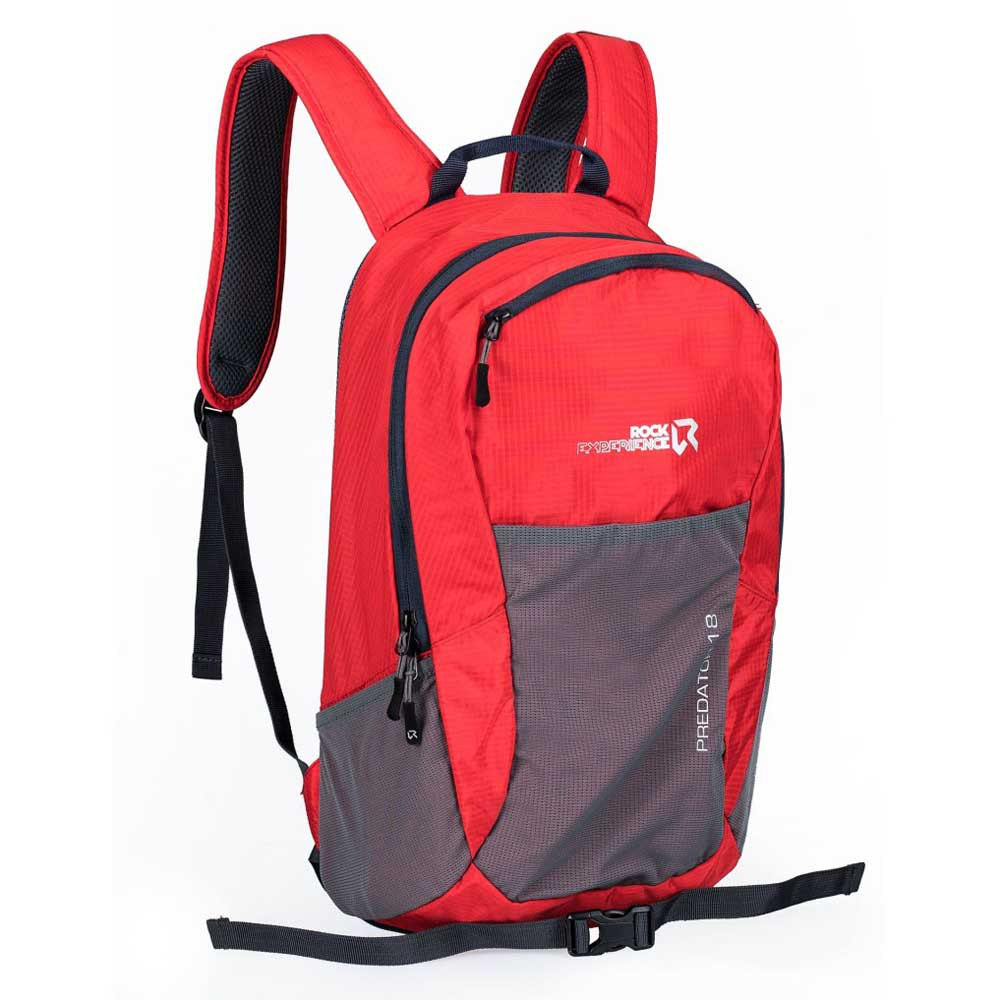 Rock Experience Sac à Dos Predator 18l One Size High Risk Red / Blue Nights