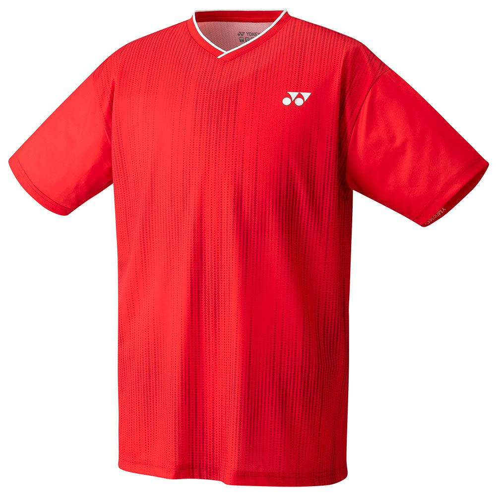 Yonex T-shirt Manche Courte Crew Neck 150 cm Ruby Red