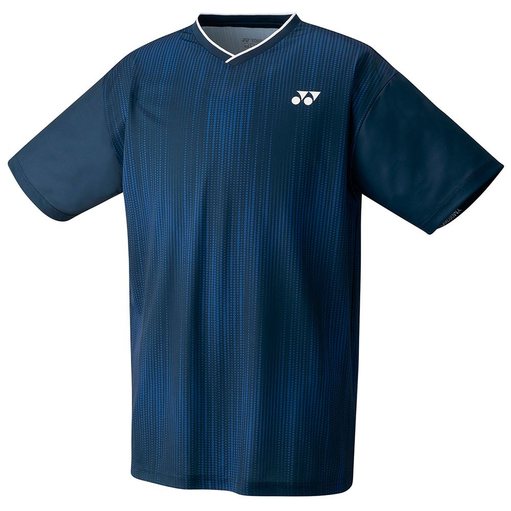 Yonex T-shirt Manche Courte Crew Neck 130 cm Denim Navy