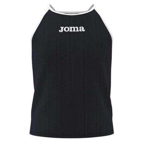 Joma T-shirt Sans Manches Vallina 9-10 Years Black