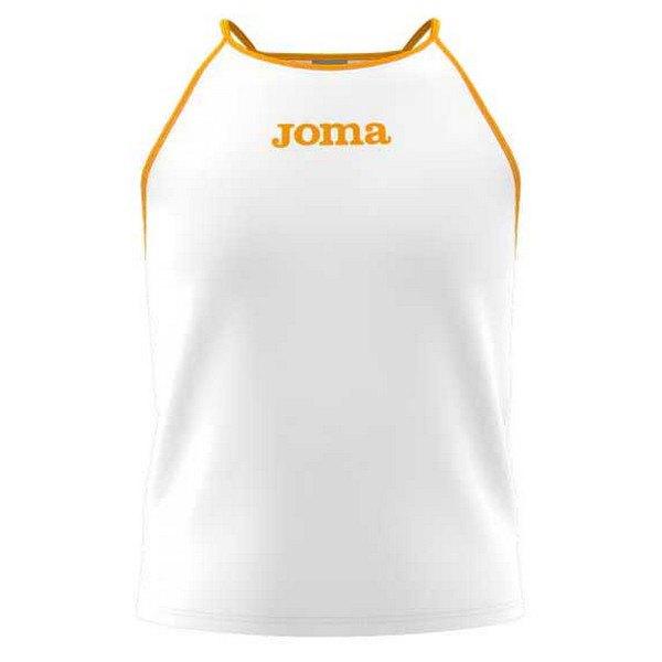 Joma T-shirt Sans Manches Vallina 9-10 Years White