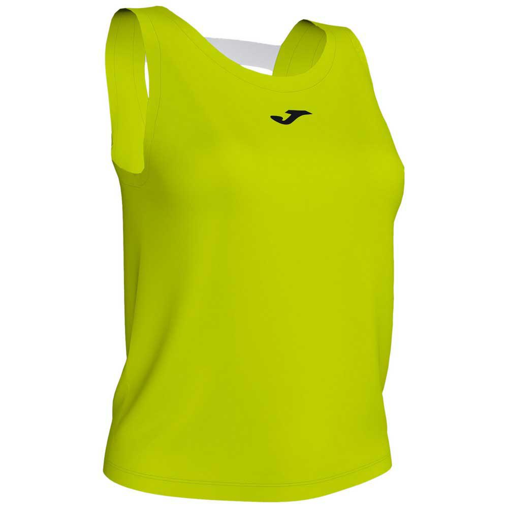 Joma T-shirt Sans Manches Torneo 9-10 Years Lime