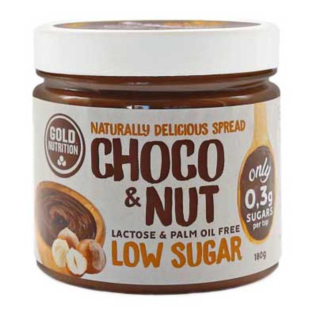 Gold Nutrition Peu Sucré 180gr Chocolat Aux Noisettes One Size